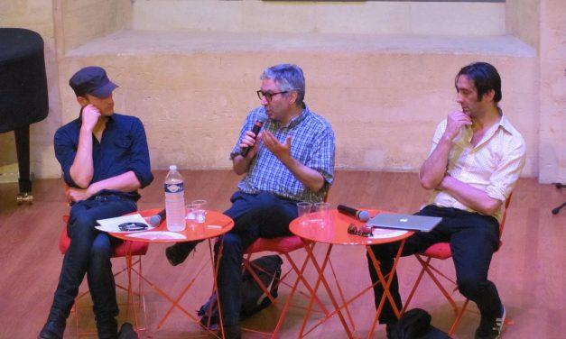 Quel théâtre politique aujourd'hui ? Rencontre avec Didier Eribon, Anoine Laubin et Stéphane Arcas au conservatoire d'Avignon