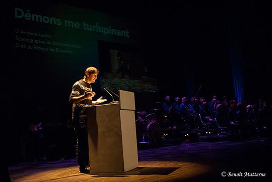 Prix de la Critique/ Discours à Mons 2015 (23 Octobre)